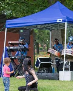 Summer bands Cross Flatts Park
