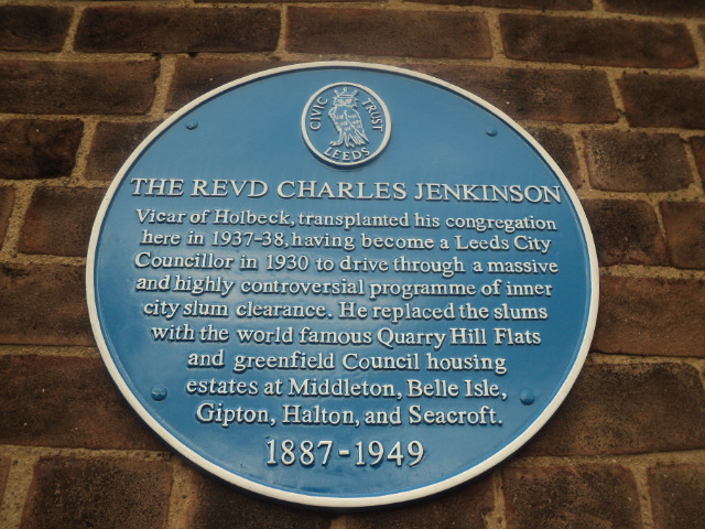 charles jenkinson blue plaque