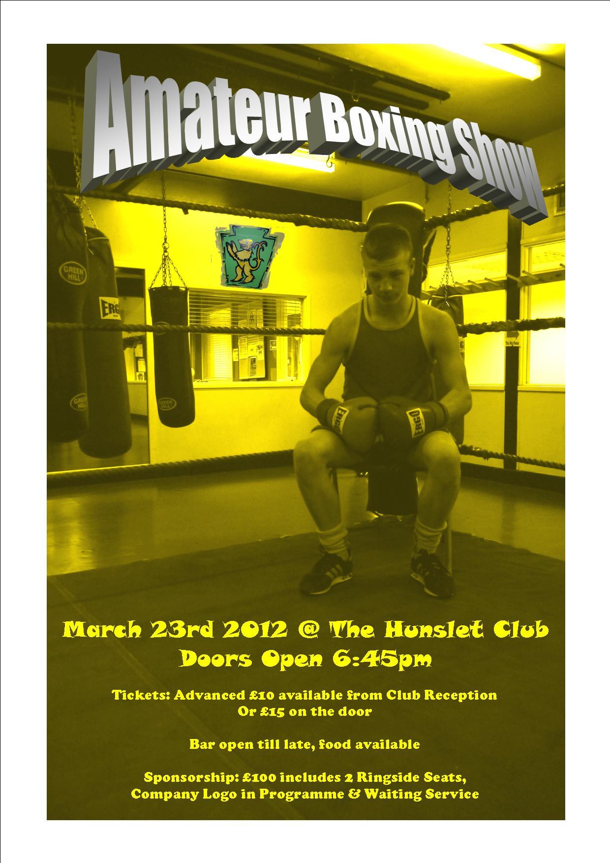 Hunslet Club Amateur Boxing Show