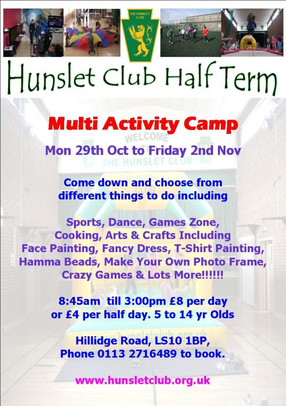 Hunslet Club Activity Camp