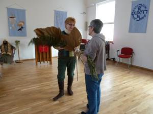 Scarecrow festival belle Isle